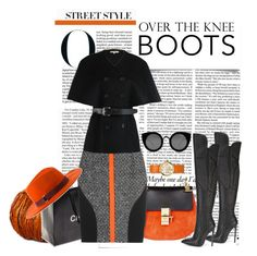 """""""Untitled #877"""" by lovelycreola ❤ liked on Polyvore featuring Victoria Beckham, Smith & Hawken, Chanel, Chloé, Antonio Berardi, Michael Kors, Gianni Renzi, Tory Burch and Quay"""