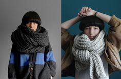 4 photo of 21 for knitted scarves etsy
