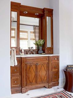 Amazing Description We Turned Our Powder Room Into A Full Bath  A Vanity 1 I Wanted The Vanity To Have BIG Impact To Offset The New Shower I Wanted You To Not Really Notice The Shower That Much 2 I Needed Clearance For The Toilet 3 I Wanted