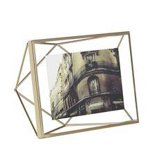 Found it at Wayfair - Prisma Brass Picture Frame