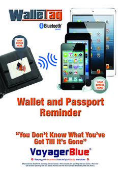 """WalletTag protects your wallet/purse and much more contact www.gizmopromotions.co.uk for more details. Business users this makes a fantastic corporate gift branded in your company logo. You can have a branded """"App"""" too!"""