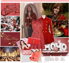 """""""Christmas with Massie Block(Elizabeth Mclaughlin)"""" by i-flowergirl ❤ liked on Polyvore"""