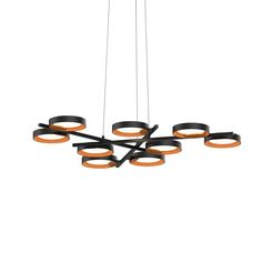 light guide ring 9-Light LED Pendant(2656.25A) SONNEMAN - A Way of Light