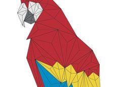The online portfolio of Anna Trundle - illustrator, graphic designer, web designer and artist living in Melbourne, Australia. Origami And Quilling, Paper Crafts Origami, Origami Birds, Gift Wrapping Tutorial, Linen Company, Creative Jobs, Modelos 3d, Smart Art, Origami Design