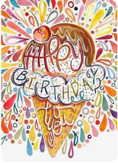 Happy Birthday Messages, Happy Birthday Quotes, Happy Birthday Images, Happy Birthday Greetings, Birthday Love, Vintage Birthday, Birthday Pictures, Birthday Signs, Birthday Clipart
