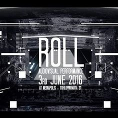ROLL - Audiovisual performance on 3rd of June @mediapolis Tampere! At 16.00 Come come come #tampere #events #audiovisual #vj #performance #students #tamk #inner #roll #blender #c4d #ae #media by sindavsp