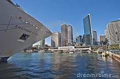 Cruise Ship Sydeny City - Download From Over 26 Million High Quality Stock Photos, Images, Vectors. Sign up for FREE today. Image: 18917321