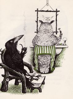 The [Murderous] Crows of Pearblossom: Aldous Huxley's Children's Book illustrated By Barbara Cooney (1967)