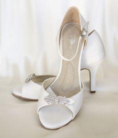 Angela Nuran heels made like ballroom  shoes to be super comfortable!