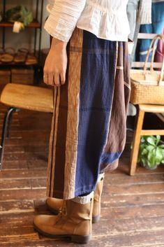 only one powan skirt cotton (short/long)ポワンとした優しいシルエット。世界にひとつだけのスカート。トップスはシンプ...