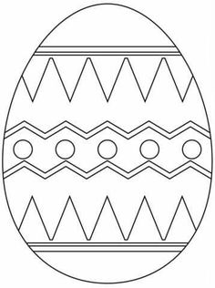 Easter Egg with Abstract Pattern coloring page from Easter eggs category. Select from 24652 printable crafts of cartoons, nature, animals, Bible and many more. Free Printable Coloring Pages, Free Coloring Pages, Coloring Books, Coloring Sheets, Easter Egg Coloring Pages, Spring Coloring Pages, Egg Pictures, Easter Egg Pattern, Culture Art