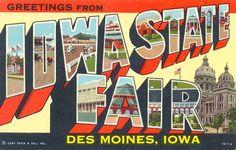 Iowa State Fair!