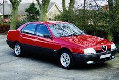 Alfa Romeo 164, designed by Pininfarina. I loved it