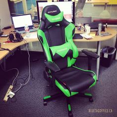 Stepped up my chair game. Instant productivity boost! #geekpowered #dxracer #ceo #canada #armchair #bench#recliner #cathedra#rocker #sling  Source: instagram.com/johnleoweber  Blue Tag Office Ltd. ph: 1 888 264 2824  http://www.bluetagoffice.ca Quality office furniture for very cheap! Lowest price guaranteed or we will bet the difference by 10%