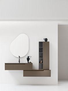 Collezione Gold by Arcom Bathroom Mirror Cabinet, Mirror Cabinets, Small Toilet Room, Restroom Cabinets, Dressing Table Design, Restroom Design, Home Decor Sets, Bedroom Bed Design, Vanity Design