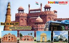 Lets come and enjoy the blissful #city- #Delhi darshan sight seeing with #hoho bus service. Book now with bookmyseats.in