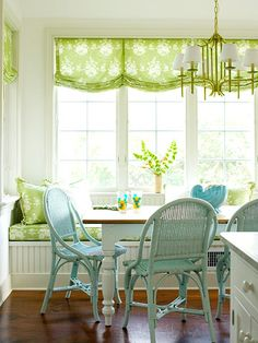 Another casual valance idea