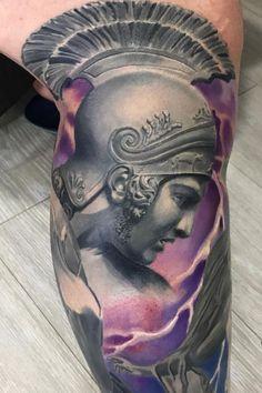 Warrior Ares Tattoo