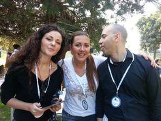 First time I met @Pennamontata :)  con @Francesca Mattia @Valentina Falcinelli e @Valerio Notarfrancesco  #TA12