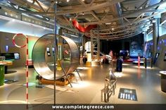 Noesis (Science Center and Technology Museum) - Thermi - Thessaloniki - Thessaloniki, Macedonia, Greece Travel, Science And Technology, Travel Guide, Exhibitions, Amusement Parks, Road Trip Destinations, Greece Vacation