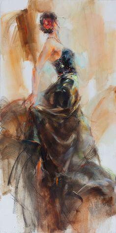 Unfolding Dance by Anna Razumovskaya
