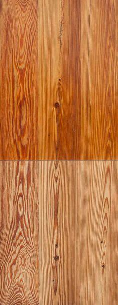 Reclaimed Heart Pine Decking from Charlestown, Massachusetts
