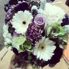 Beautiful shades of purple wedding!