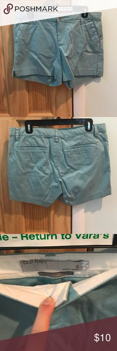 Old navy baby blue shorts Old navy, baby blue, khaki shorts Old Navy Shorts Skorts