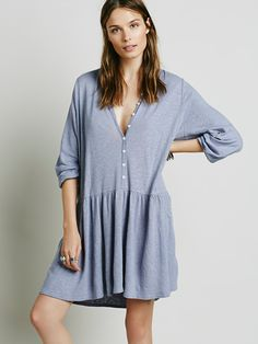 Free People Button Up Dress, $78.00