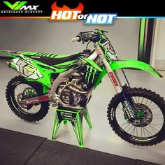 by Ryan Villopoto Chevy Jokes, Kawasaki Dirt Bikes, Motorcross Bike, Vintage Motocross, Motorcycle Art, Fox Racing, Dirtbikes, Bike Life, Cars And Motorcycles