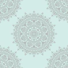 Addam medallion fabric by keweenawchris on Spoonflower - custom fabric