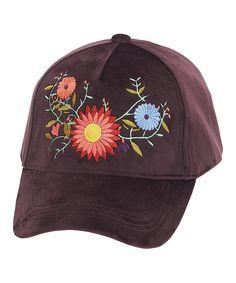 3bb8946221d ADORA Violet Floral Baseball Cap