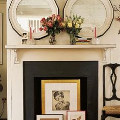 fireplaces artwork 10 Creative Ways to Decorate Your Non Working Fireplace