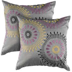 Perfect for a gray/purple/yellow bedroom