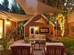 Great Patio Ideas from the blogosphere! #patios #entries