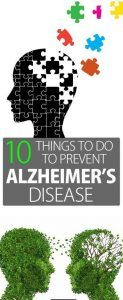 10 Things to Do to Prevent Alzheimers Disease
