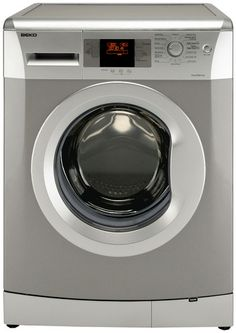 Silver washing machine to match fridge freezer and dishwasher