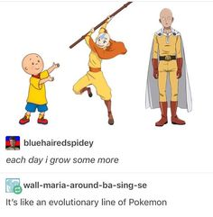One Punch Man Avatar the Last Airbender
