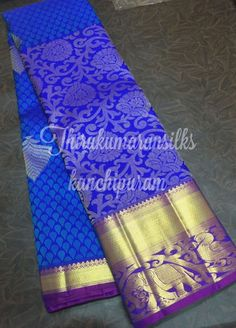 #Royalblue #kanjivaram,from #Thirukumaransilks,can reach us at +919842322992/WhatsApp or at thirukumaransilk@gmail.com for more collections and details