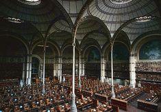 La Bibliothèque nationale de France, located in Paris. Biblioteca Nacional de Francia (París, Francia)