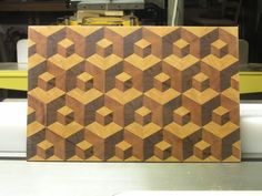 Double Tumble Cutting Board - by SPalm @ LumberJocks.com ~ woodworking community Woodworking Journal, Woodworking Furniture, Woodworking Plans, Woodworking Projects, End Grain Cutting Board, Diy Cutting Board, Wood Cutting Boards, Chopping Boards, Walnut Bedroom Furniture