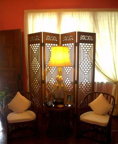 Foyer At The Home Of Malueca Diaz De Teves Sibulan Negros Oriental Philippines Window ScreensRoom