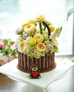 Soy bean paste cream flower ricecake.  3D flower ricecake class  Done by China student. Soy bean  paste cream flower ricecake~♡ 韩式豆沙裱花  #cake #modelling #flowercake #barbie  #flowercake #flower #design #dessert#food#ricecake #class #inquiry #CAKEnDECO  # 韩式豆沙裱花  #앙금플라워떡케이크  #앙금플라워 #앙금플라워떡케익  #플라워케이크 #韩式裱花 #앙금모델링 #떡케이크 #케이크  #떡 #디저트#花#koreanflowercake #韓国式 #포토그램 #플라워 #플라워케이크 #裱花  #beanpaste # #케익앤데코  KakaoTalk, WeChat ID : cakendeco Line ID : cakendeco  http://www.cakendeco.co.kr