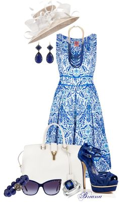 """Kentucky Derby Contest: Sunday Best"" by bln-in-mn on Polyvore"