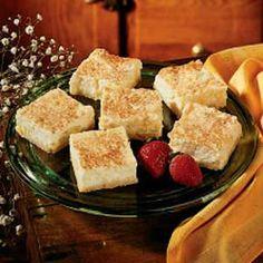 Pineapple Cheesecake Squares Recipe