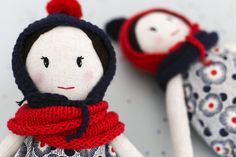 Handmade dolls. Sirimiri dolls. http://sirimiridolls.com