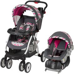 Have this & I absolutely LOVE it! So stylish for my baby girl.   Baby Trend Encore Lite Travel System, Estelle: Strollers : Walmart.com $179.88