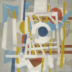 Theo Bitter - abstract composition, 1959