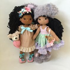Amigurumi dolls By nathaliesweetstitches