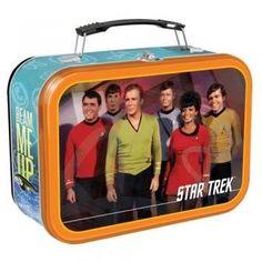 Vandor 80070 Star Trek Large Tin Tote, Multicolored  Price : $12.63 http://www.thinkfasttoys.com/Vandor-80070-Star-Large-Multicolored/dp/B002453VBE